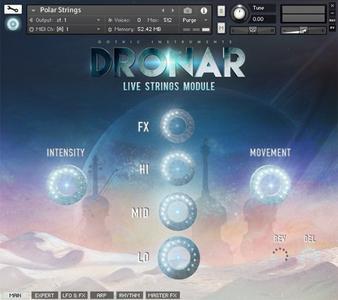 哥特式弦乐音源Gothic Instruments DRONAR Live Strings KONTAKT