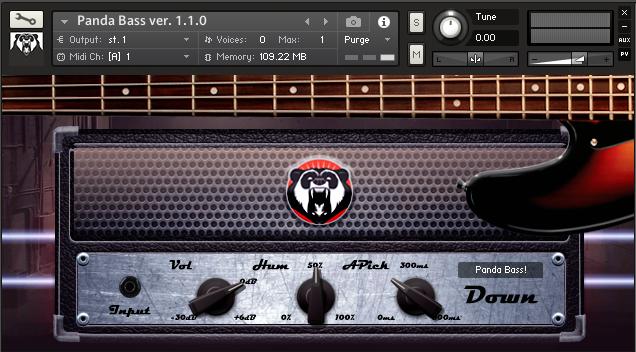 熊猫贝斯音源Panda Sound Panda Bass v1.2.0 KONTAKT