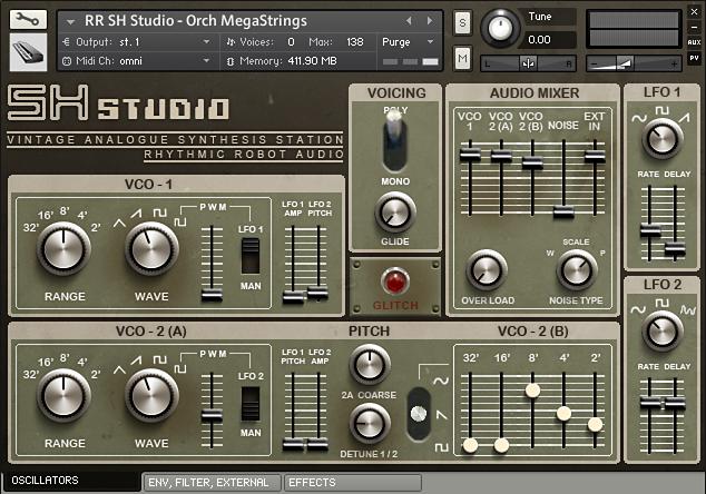 节奏机器人音源Rhythmic Robot Audio SH Studio KONTAKT