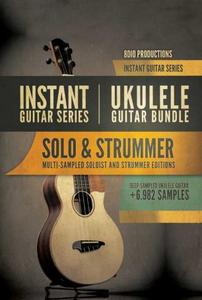 尤克里里吉他音源8Dio Instant Ukulele Guitar Bundle KONTAKT
