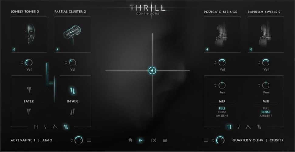 恐怖配乐音源Native Instruments Thrill KONTAKT