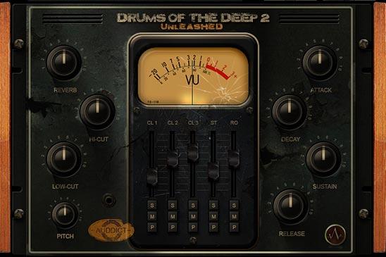 打击乐音源Auddict Drums of the Deep II Unleashed KONTAKT