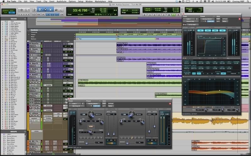混音录音编曲软件Pro Tools 12.5 (行业标杆)