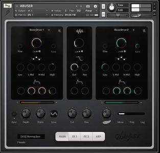 合成器音源Audiomodern Abuser v2.0 KONTAKT