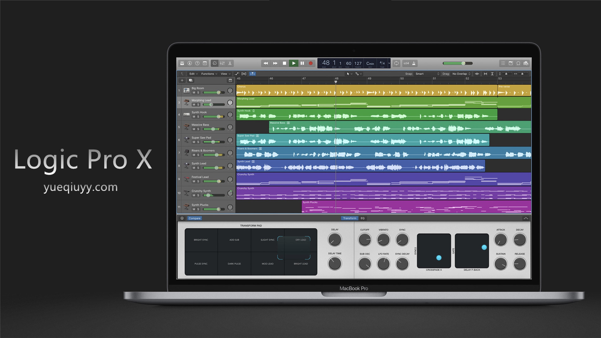 编曲软件Logic Pro X 10.3.1 综合宿主(Mac专用)