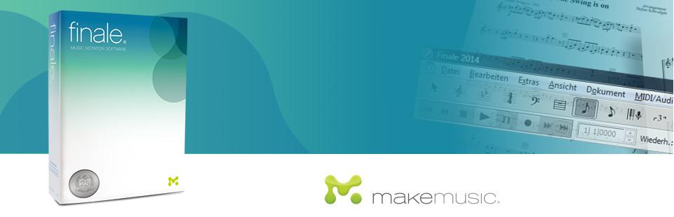 优秀打谱软件Makemusic Finale 25.5