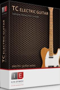 电吉他音色Ilya Efimov TC Electric Guitar KONTAKT音源