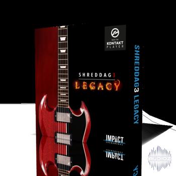传奇电吉他音色Impact Soundworks Shreddage 3 Legacy KONTAKT音源