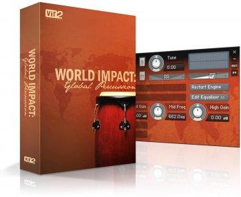 世界民族打击乐音色Instruments World Impact: Global Percussion v1.2 KONTAKT音源