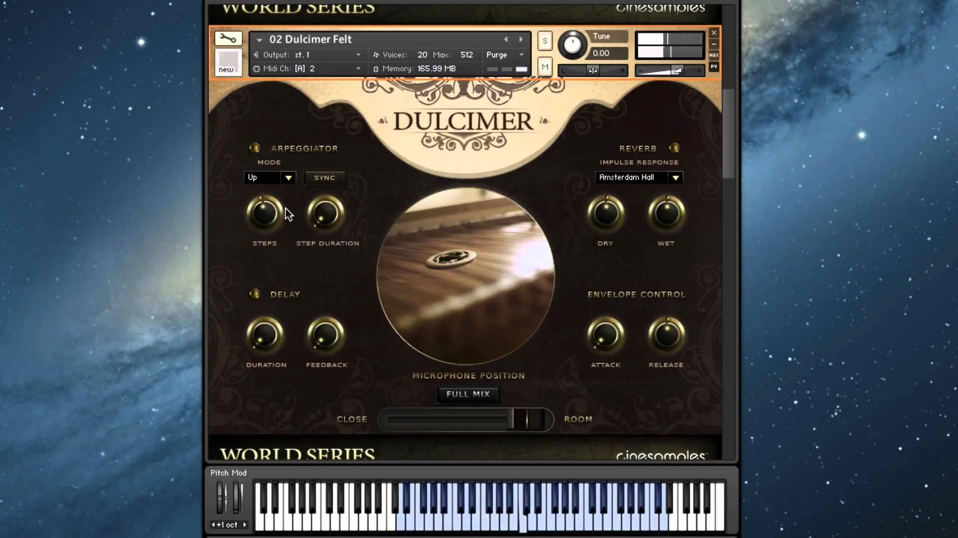欧洲扬琴和古筝音色Cinesamples Dulcimer and Zither KONTAKT音源