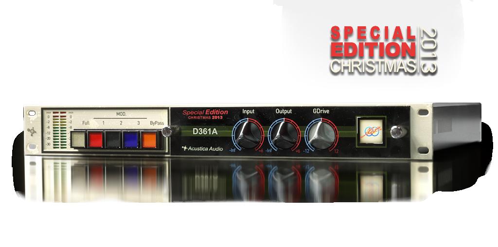 EQ均衡效果器Acustica Audio D361A Special Edition 1.3.609精品插件简化版