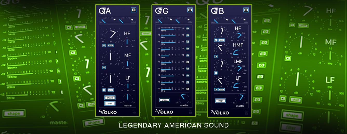 经典复刻EQ均衡效果器VolkoAudio Q American Series v1.1.0 WiN