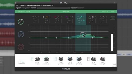 线性相位EQ均衡效果器器Sonible EQ Plus Bundle 1.0.0