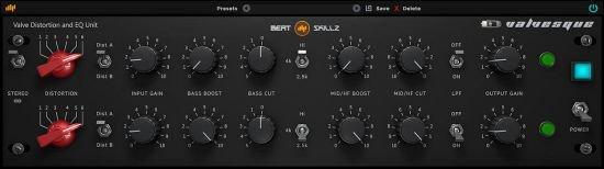 电子管失真EQ均衡效果器BeatSkillz Valvesque v1.2 WiN / MACOS
