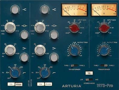 TAE建模EQ均衡效果器Arturia 1973-Pre v1.1.0.388 MacOS