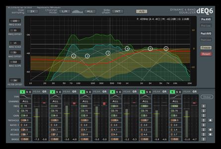 EQ均衡效果器TBProAudio dEQ6 v1.1.2 CE WiN