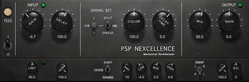 弹簧混响效果器PSPaudioware PSP Nexcellence v1.0.0 WiN