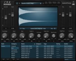 卷积混响效果器AudioThing Fog Convolver v1.5.0 WiN / MACOS
