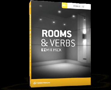 混音利刃房间混响效果器Toontrack EMX Rooms And Verbs v1.0.0 WiN OSX