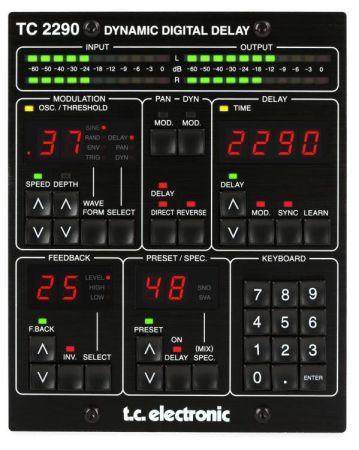 多功能延迟混响效果器TC Electronic TC2290 v2.0.02