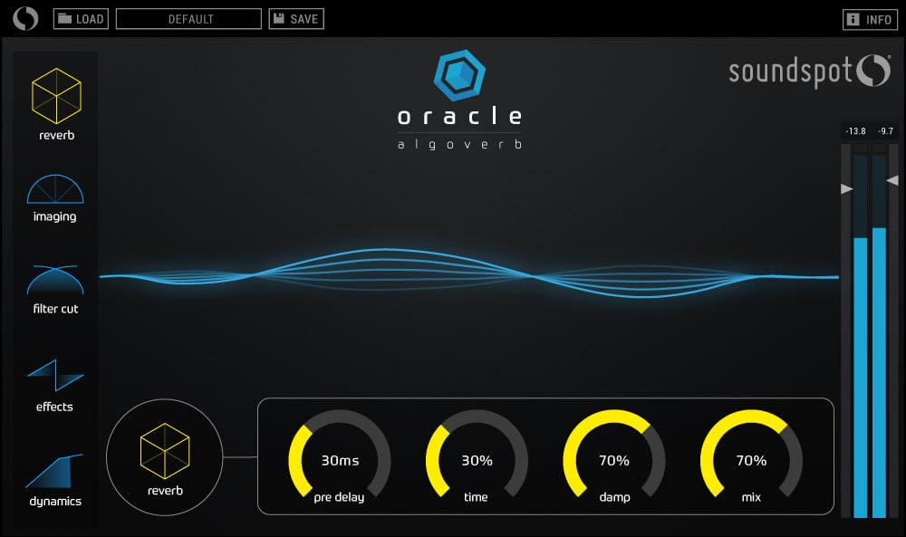 混响效果器插件SoundSpot Oracle Reverb WiN MACOSX
