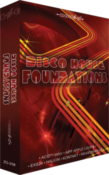 电子舞曲音源Zero-G Disco House Foundations 必备80年代迪斯科