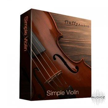 简单弦乐小提琴音源Fluffy Audio Simple Violin KONTAKT