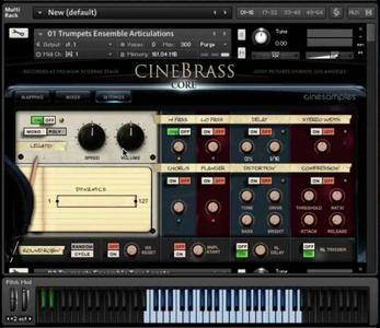 管弦乐铜管音源Cinesamples CineBrass Core v1.8 KONTAKT