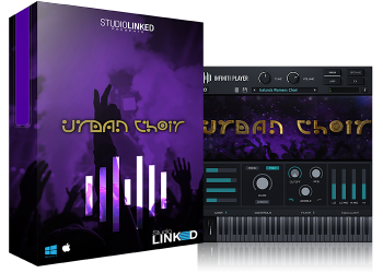 人声合唱团音效素材StudioLinked Infiniti Expansion Urban Choir Library (WIN OSX)