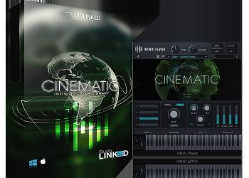 嘻哈编曲音效素材库StudioLinked Infiniti Expansion Cinematic Library (WIN OSX)