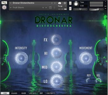 管弦乐音源Gothic Instruments DRONAR Distorchestra KONTAKT