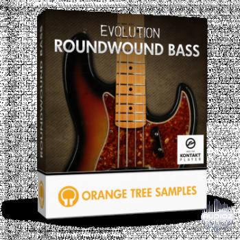 橘子树电贝司音源Orange Tree Samples Evolution Roundwound Bass v1.0.0 KONTAK
