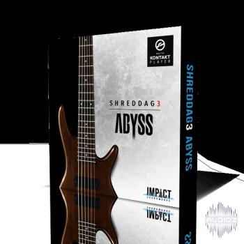 碎纸3深渊六弦贝斯音源Impact Soundworks Shreddage 3 Abyss KONTAKT