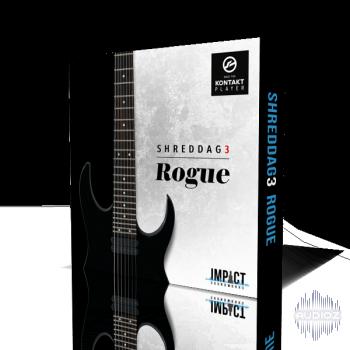 碎纸3金属七弦电吉他音源Impact Soundworks Shreddage 3 Rogue KONTAKT