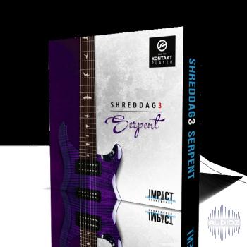 碎纸3七弦电吉他音源Impact Soundworks Shreddage 3 Serpent KONTAKT