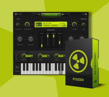 嘻哈音色合成器音源Thenatan Poizen v1.0.1 WiN-Mac