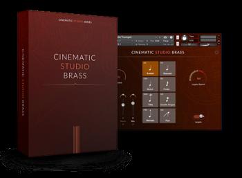 工作室管弦乐铜管音源Cinematic Studio Brass KONTAKT