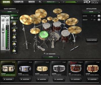 完美鼓音源Naughty Seal Audio Perfect Drums Factory Library v1.6.0