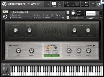 电钢琴音源Native Instruments Scarbee MARK I v1.4.0 KONTAKT