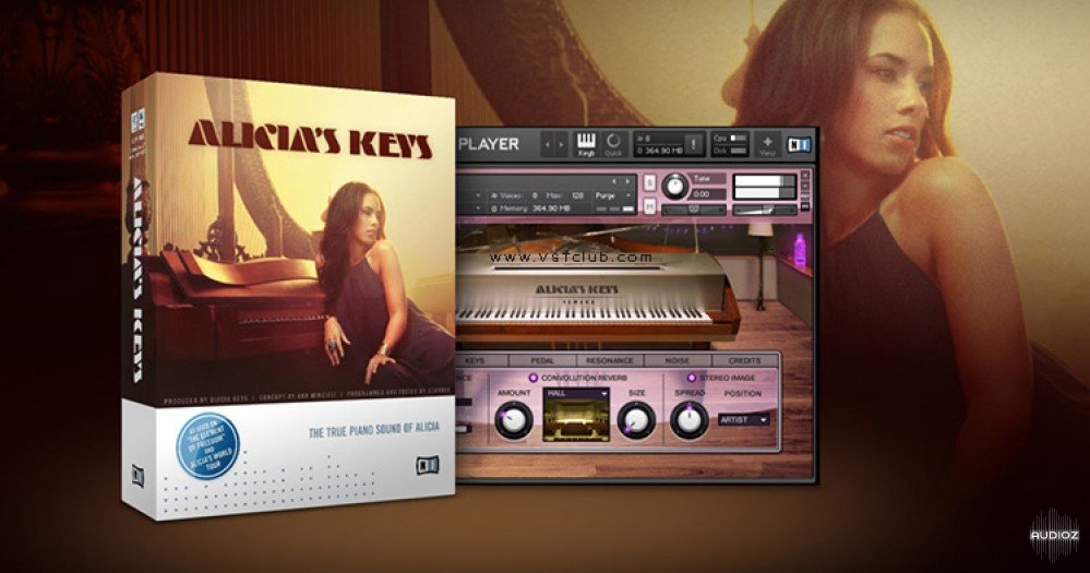 Native Instruments Alicias Keys KONTAKT DVDR-DYNAMiCS屏幕截图