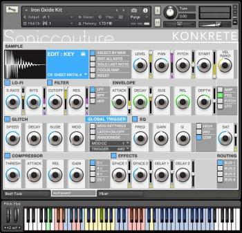 声音调节合成器音色Soniccouture Konkrete v1.1.0 KONTAKT