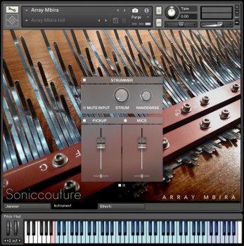 拇指钢琴音源Soniccouture Array Mbira v1.1.0 KONTAKT