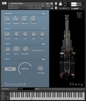 中国乐器笙音源Soniccouture Sheng Khaen Sho v1.0.0 KONTAKT
