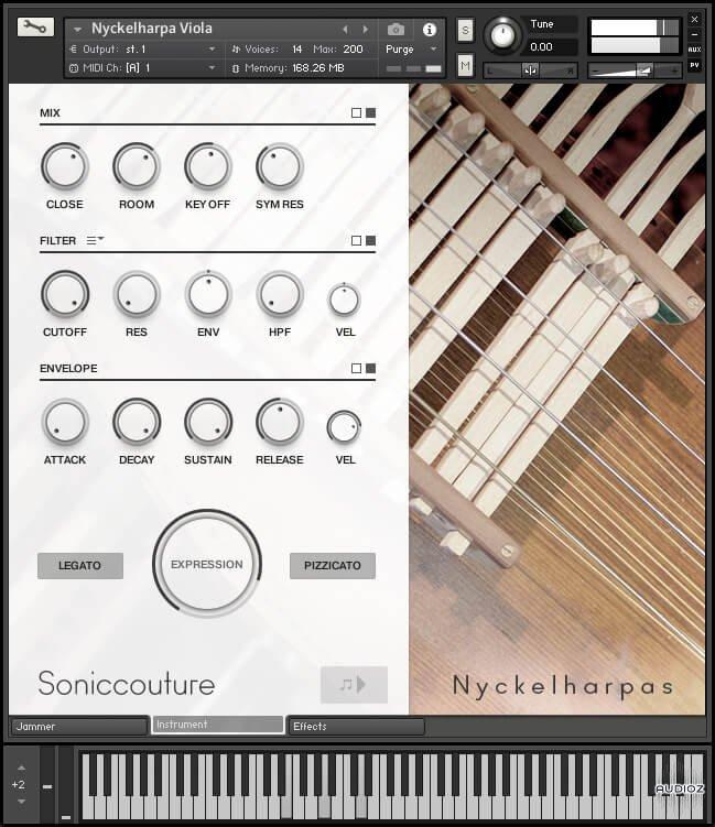 瑞典小提琴音色Soniccouture Nyckelharpas v1.0.0 KONTAKT