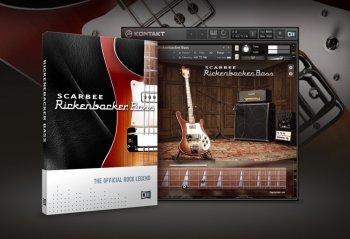 贝斯音源Native Instruments Scarbee Rickenbacker Bass v1.2.0 KONTAKT