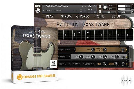橘子树电吉他音源Orange Tree Samples Evolution Texas Twang Kontakt