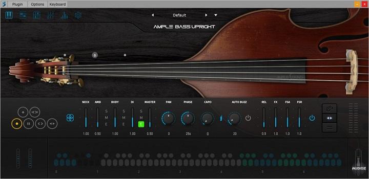低音提琴贝斯音源Ample Sound Ample Bass Upright III v3.00 MacOSX