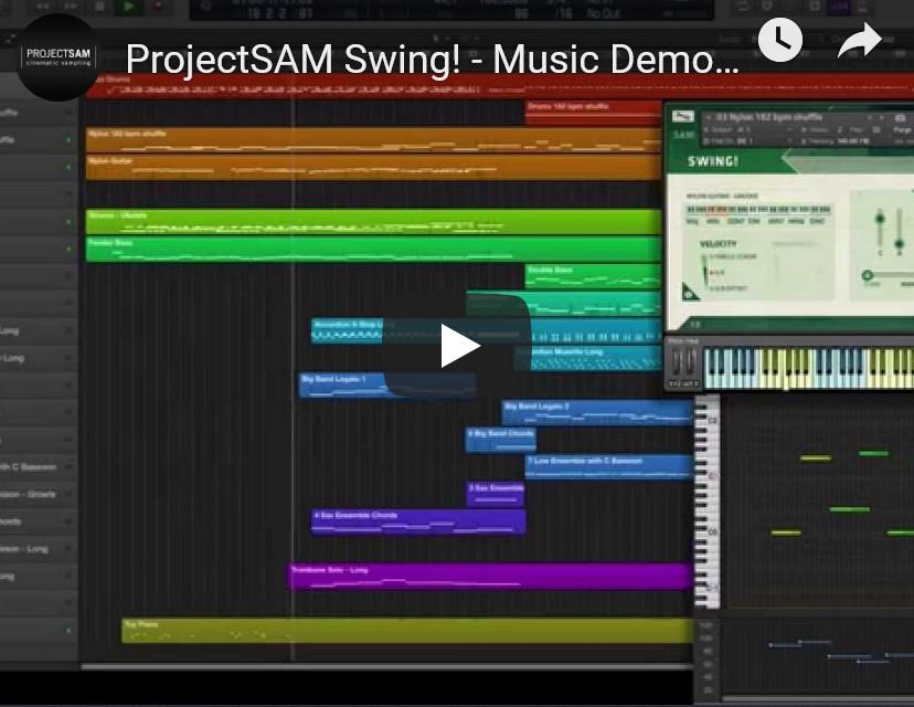 乐队合奏摇摆音源ProjectSAM Swing! v1.2 KONTAKT