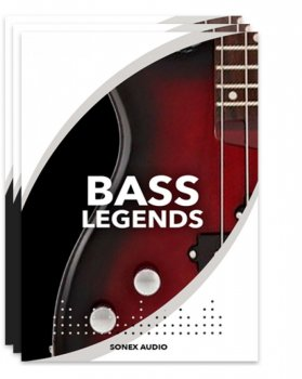 贝斯音源Sonex Audio Bass Legends KONTAKT