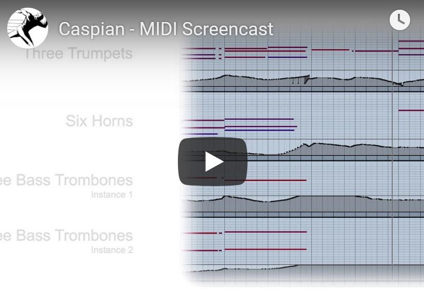 管弦乐铜管音源Performance Samples Caspian KONTAKT